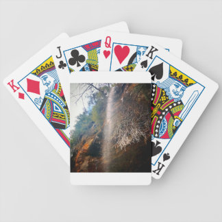 Whispering Falls, Hocking Hills Ohio Bicycle Playing Cards