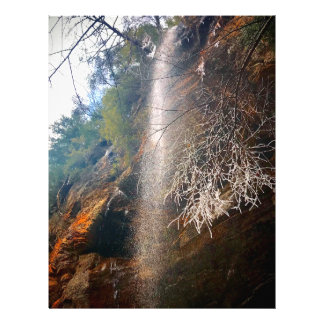 Whispering Falls, Hocking Hills Ohio Letterhead