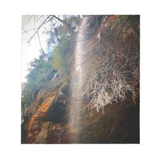 Whispering Falls, Hocking Hills Ohio Notepad