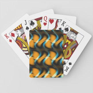 Whispering Golden Waves Poker Deck