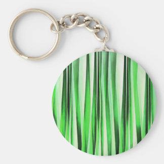Whispering Green Grass Basic Round Button Keychain