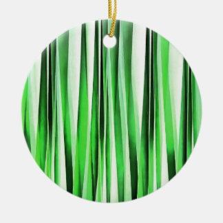 Whispering Green Grass Ceramic Ornament