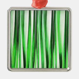 Whispering Green Grass Metal Ornament