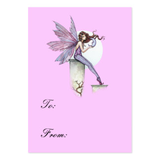 Whispering Moon Fairy gift Tag Business Cards