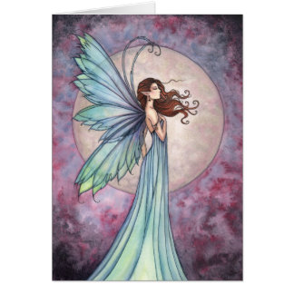 Whispering Wind Fairy Card