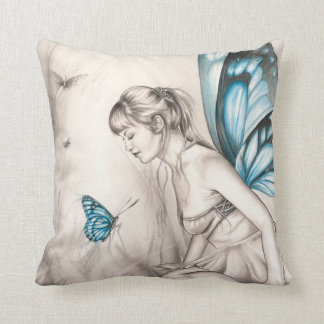 Whispering Wings Throw Pillow