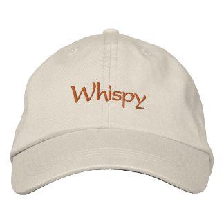 Whispy Embroidered Baseball Caps