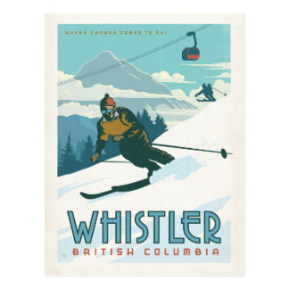 Whistler, British Columbia Postcard