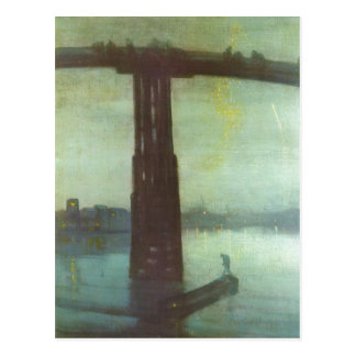 Whistler, James McNeill Die alte Battersea Br?cke: Postcard