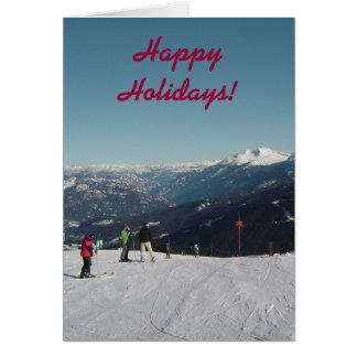 Whistler Mountain Christmas Card