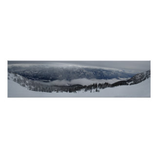 Whistler Panoramic View Poster