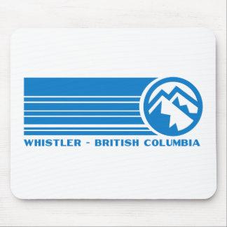 Whistler Ski Resort, British Columbia Mouse Pad