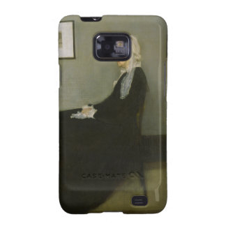 Whistler's Mother by James Abbot McNeill Whistler Galaxy S2 Cases