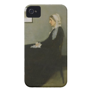 Whistler's Mother by James Abbot McNeill Whistler iPhone 4 Case