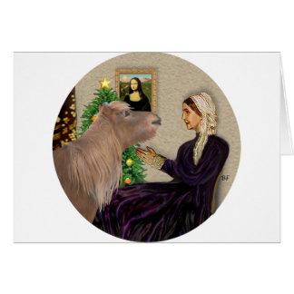 Whistlers Mother Xmas-Shetland Pony Card