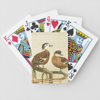 Whistling Duck Birds Wildlife Animal Playing Cards