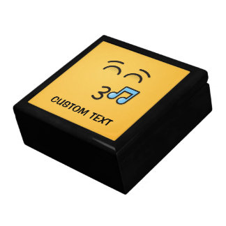 Whistling Face with Smiling Eyes Gift Box
