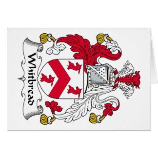 Whitbread Family Crest Card