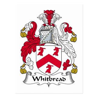 Whitbread Family Crest Postcard