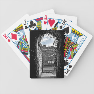 Whitby Abbey Bicycle Playing Cards