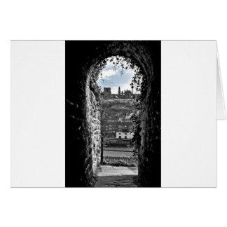 Whitby Abbey Card