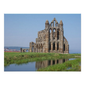 Whitby Abbey North Yorkshire Poster