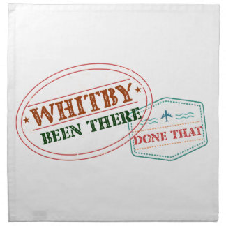 Whitby Been there done that Napkin