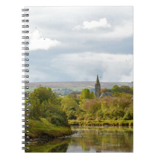 Whitby Church Spiral Notebook