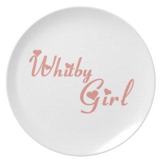 Whitby Girl Plate