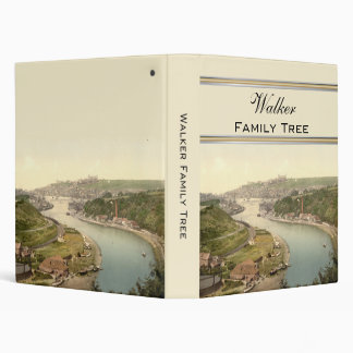 Whitby III, Yorkshire, England Family Tree Vinyl Binder