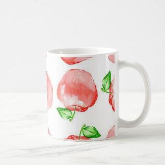 White 11 oz Classic Apple Mug