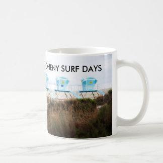 White 11 oz Classic Doheny Surf Days Mug