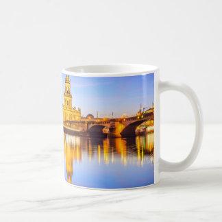 White 11 oz Classic Mug Dresden