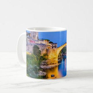 White 11 oz Classic Mug Mostar