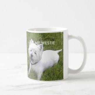 White 11oz Classic White Westie Mug