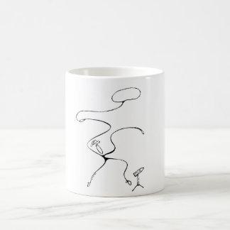 White 325 ml  Classic White Mug. Cowboy. Coffee Mug
