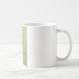 White 325 ml  Classic White Mug. Santa. Coffee Mug