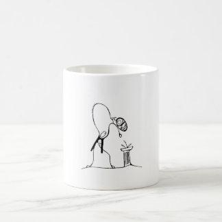 White 325 ml  Classic White Mug. The Christening. Coffee Mug