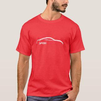White 350z Brush Stroke T-Shirt