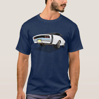 White 68 Charger T T-Shirt
