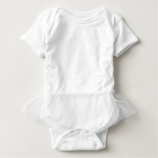 White AIN'T LAURENT LOGO Baby Bodysuit