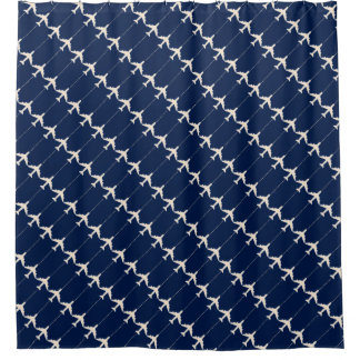 white airplanes on blue pattern for pilots - plane