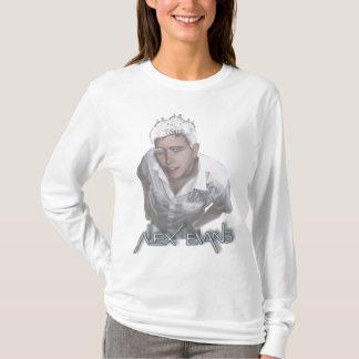 White Alex - Fleece T-Shirt