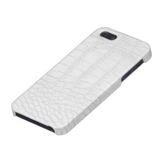 White Alligator iPhone 5 Glossy Case iPhone 5/5S Case