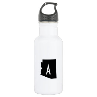 White and Black Arizona Monogram 532 Ml Water Bottle