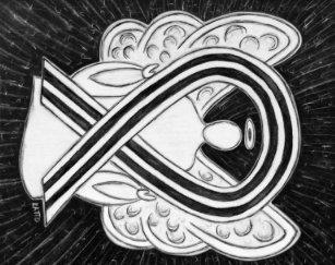 Black And White Awareness Ribbons Ribbon   Zazzle ca