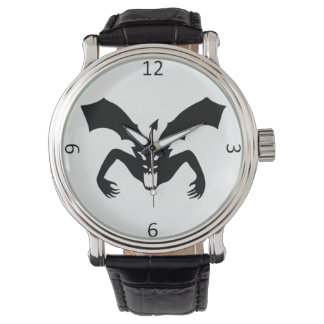 White And Black Devil Wristwatch
