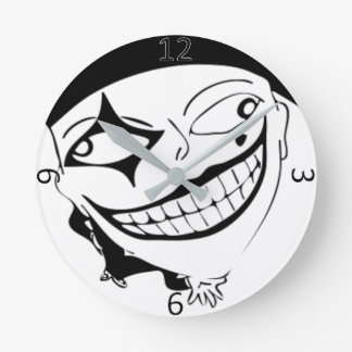 White And Black MTJ Clock