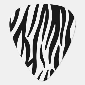 White and Black Zebra Pattern Pick