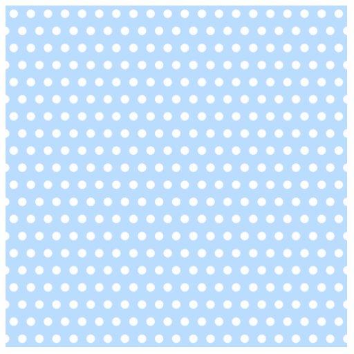 White and Blue Polka Dot Pattern. Spotty. Photo Cutouts